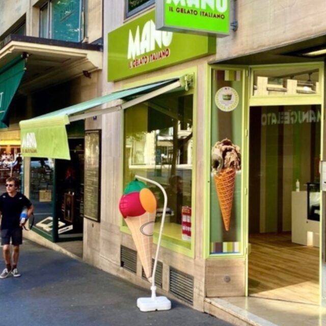 First franchise unit for Manu Gelato in Lausanne